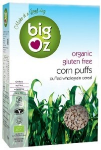 Big Oz Organic Corn Puffs  175g