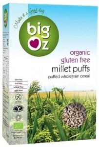 Big Oz Organic Millet Puffs  225g