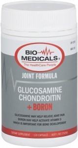 Bio-Medicals Glucosamine Chondroitin + Boron 120 VegCaps