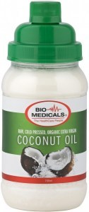 Bio-Medicals Organic Extra Virgin Coconut Oil 700ml
