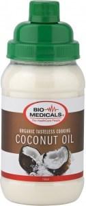 Bio-Medicals Organic Tasteless Cooking Coconut Oil 700ml