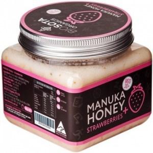 Biosota Organics Manuka Honey Jellybush MGO 30+ Strawberries 300g