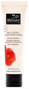 Blessed By Nature Multi Effect Tinted Moisturiser Golden Natural 60ml