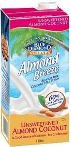 Blue Diamond Almond Breeze Unsweetened Almond & Coconut 8x1L