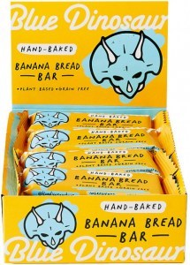 Blue Dinosaur Banana Bread Bars 12x45g