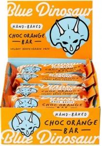 Blue Dinosaur Choc Orange Bars 12x45g
