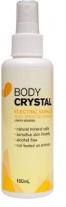 Body Crystal Electric Vanilla Mist Spray 150ml
