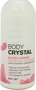 Body Crystal Wildflowers Roll On 80ml