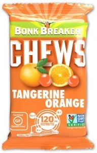 Bonk Breaker Organic Energy Chews Tangerine Orange  50g