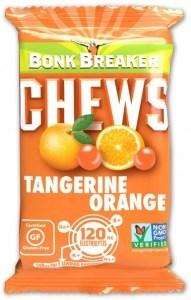 Bonk Breaker Organic Energy Chews Tangerine Orange G/F 50g
