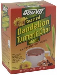 Bonvit Dandelion Turmeric Chai Blend  32 Filter Bags