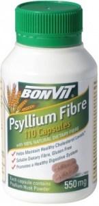Bonvit Psyllium Fibre Capsules 110 x 550mg