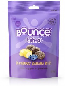 Bounce Blueberry Banana Bites 120g