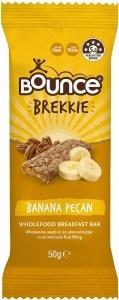 Bounce Brekkie Banana Pecan Bars  12x50g