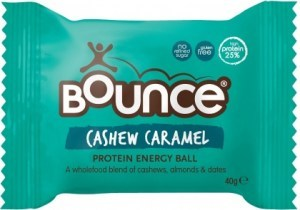 Bounce Cashew Caramel Protein Balls  12x40g