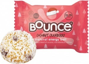 Bounce Coconut Cranberry Balls  12x40g