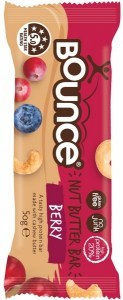 Bounce Nut Butter Bars Berry 12x50g