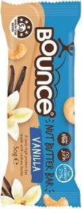 Bounce Nut Butter Bars Vanilla 12x50g JUL20