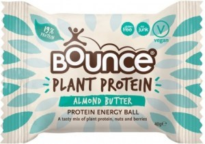 Bounce Plant Protein Almond Butter Balls G/F 12x42g