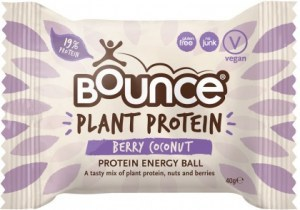 Bounce Plant Protein Berry Coconut Balls  12x40g