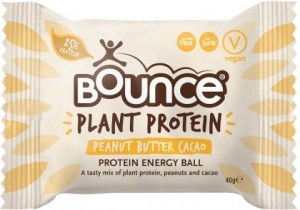 Bounce Plant Protein Peanut Butter Cacao Balls  12x40g