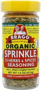 Bragg Seasoning Herbs & Spices Sprinkle 42g