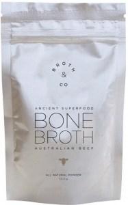 Broth & Co Australian Beef Bone Broth Powder 100g Pouch