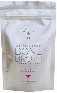 Broth & Co Australian Beef Bone Broth with Beetroot Powder 100g Pouch