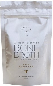 Broth & Co Australian Beef Bone Broth with Mushroom 100g Pouch