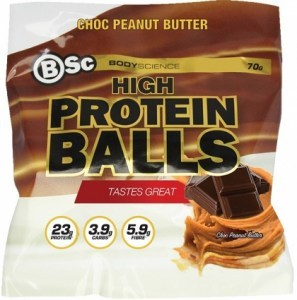 BSc High Protein Balls Choc Peanut Butter 8x70g
