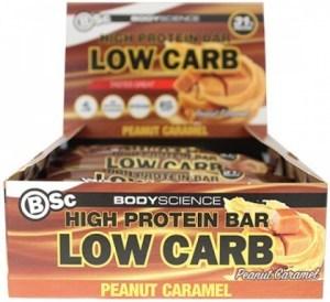 BSc High Protein Bar Peanut Caramel 12x60g