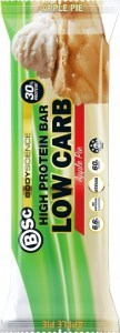 BSc High Protein Low Carb Bar Apple Pie 8x60g