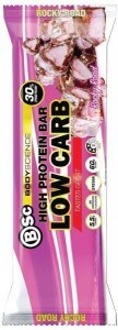 BSc High Protein Low Carb Bar Rocky Road 12x60g
