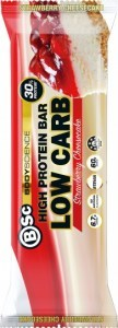 BSc High Protein Low Carb Bar Strawberry Cheesecake 12x60g