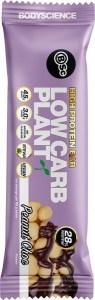 BSC High Protein Low Carb Plant Bars Peanut Choc 12x45g
