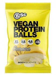 BSc Vegan Protein Balls Banana 60g