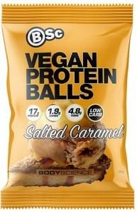BSc Vegan Protein Balls Salted Caramel 60g