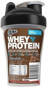 BSc Whey Protein Shake n Take Chocolate 40g