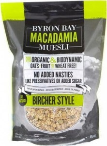 Byron Bay Macadamia Muesli Bircher Style 900g