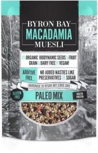 Byron Bay Macadamia Muesli Gluten Free Paleo Mix 500g