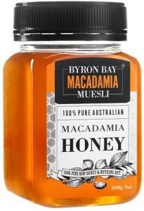 Byron Bay Macadamia Muesli Macadamia Honey 500g (Restock Jan)