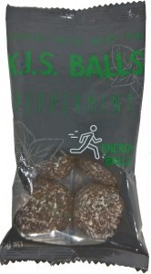 Caboolture Real Food Snacks K.I.S Balls Peppermint (5 balls)  12x75g