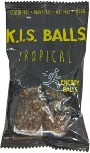 Caboolture Real Food Snacks K.I.S Balls Tropical (5 balls)  12x75g