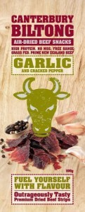 Canterbury Biltong Garlic Air-Dried Beef 100g