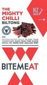 Canterbury Bitemeat Chilli Air-Dried Beef 50g