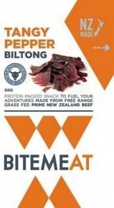 Canterbury Bitemeat Tangy Pepper Air-Dried Beef 50g