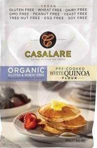 Casalare Organic Pre-Cooked White Quinoa Flour 500g
