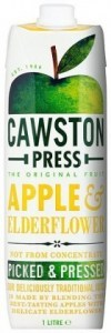 Cawston Press Apple Juice Apple & Elderflower 1L