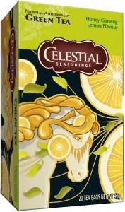 Celestial Seasonings Honey Lemon Ginseng Green Tea 20Teabags