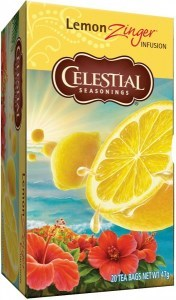 Celestial Seasonings Lemon Zinger Tea 20Teabags